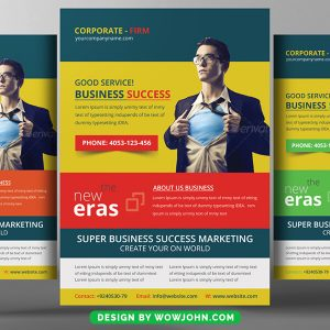 Product Promotion Flyer Psd Template