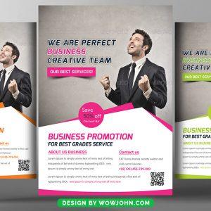 Free Marketing Company Flyer Psd Template