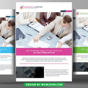 Free Web Hosting Company Flyer PSD Template