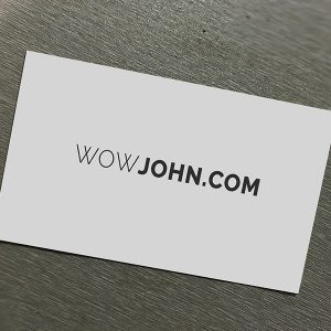Free Simple Business Card Mockup Psd Download