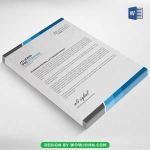 Free Ms Word Letterhead Template Download