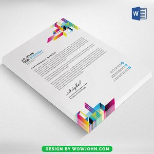 A4 Letterhead Template Free Download