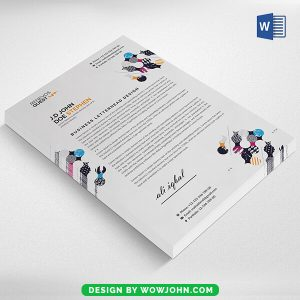 Company Letterhead Template Word 2022 Free Download