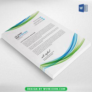 2022 Letterhead Design Pdf Psd Free Download