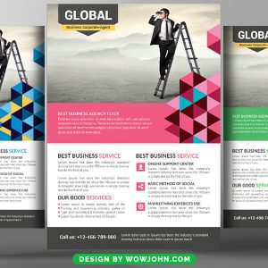 Catering Company Flyer Free Psd Template