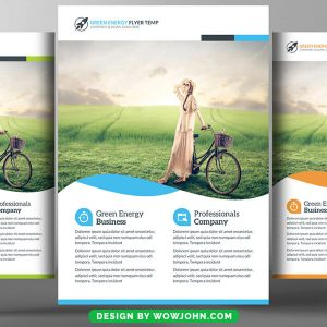 Free Environmental Protection Flyer Psd Template