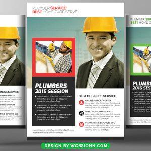 Handyman Service Psd Flyer Template