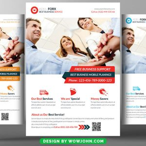 Trading Business Flyer Psd Template