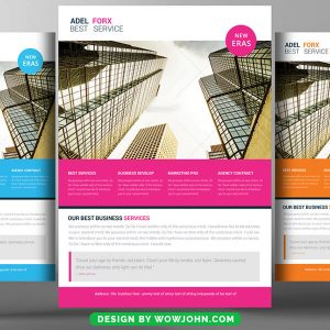 Free Property Agent Flyer Psd Template