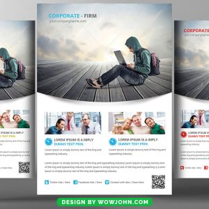 Healthcare Management Flyer Free Psd Template