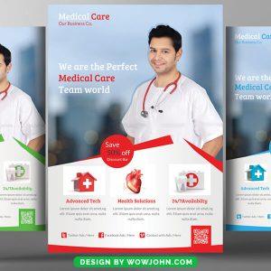 Women's Health Clinic Flyer Free Psd Template