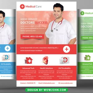 Physical Therapist Flyer Free Psd Template