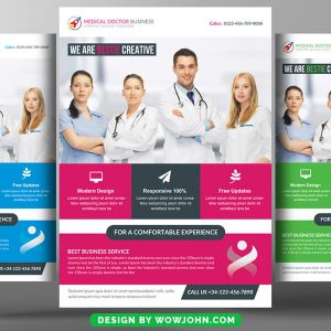Free Medical Flyer Templates Psd
