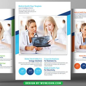 Cancer Treatment Doctor Flyer Psd Template