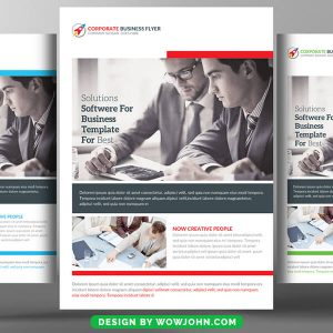 Language Learning Flyer Psd Template