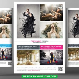 Fashion Photography Psd Flyer Template