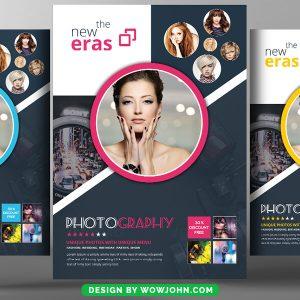 Fashion Photography Studio Flyer Psd Template