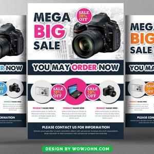 Big Sale Promotion Psd Flyer Template