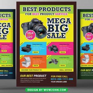 Super Market Psd Flyer Template Download