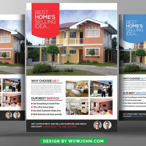 Real Estate Listing Psd Flyer Template