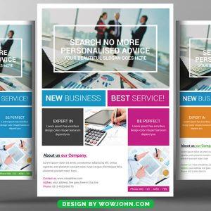 Internet Marketing Flyer Psd Template