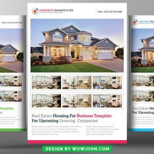 Modern Real Estate Listing Flyer Template