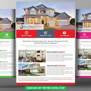 Commercial Real Estate Flyer Template to Edit