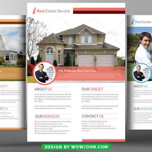 Modern Home Sale Flyer Template in Psd