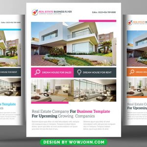 Free Real Estate Psd Flyer Template Download