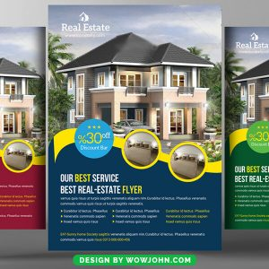 Realtor Real Estate Flyer Psd Template Download