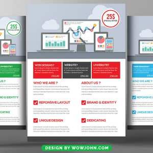 Computer Consulting Flyer Free Psd Template