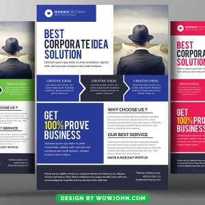 Behavioral Counseling Flyer Free Psd Template