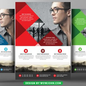 Computer Services Consulting Flyer Psd Template
