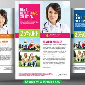 Free Healthcare Flyer Template PSD Format
