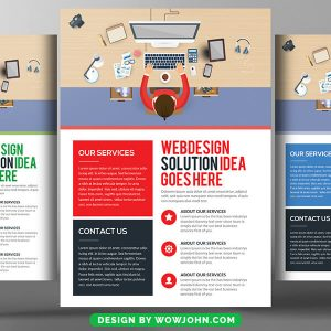 Computer Engineering Flyer Free Psd Template