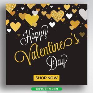 Valentines Day Social Media Facebook Banner