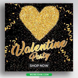Free Valentines Day Social Media Instagram Banner