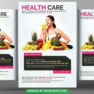 Dieting Weight Loss Program Psd Flyer Template