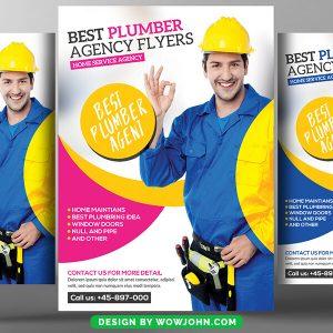 Plumber Service Psd Flyer Template