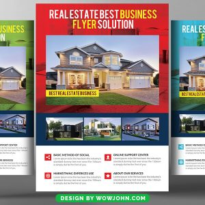 2022 Real Estate Psd Flyer Template
