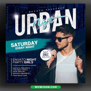 Night Club Psd Flyer Template Download