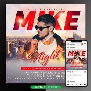 Dj Guest Night Psd Flyer Template Download