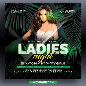Club Party Flyer Template Psd Free Download