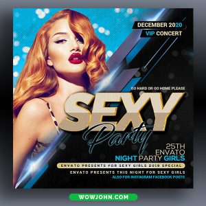 Friday Bash Psd Flyer Template Download