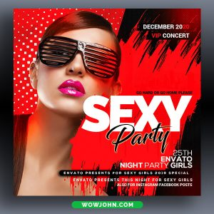 Epic Night Club Psd Flyer Template Download