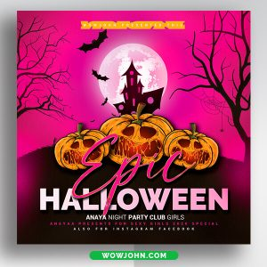 Halloween Flyer Template Psd Download
