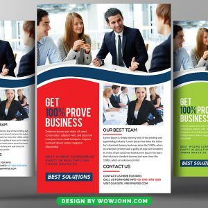 Election Psd Flyer Template Free Download