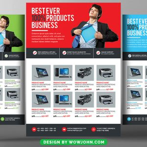 Supermarket Psd Flyer Template Free Download