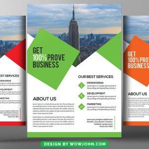 Employment Agency Psd Flyer Template