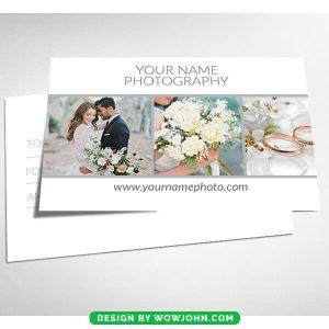 Free Wedding Photos Card Psd Template